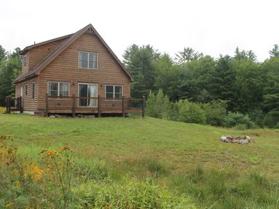 Photo for Cozy, private, bright cabin with mountain views