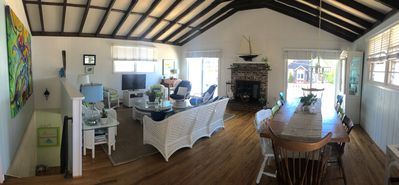 Alternate view of upstairs living room/dining area