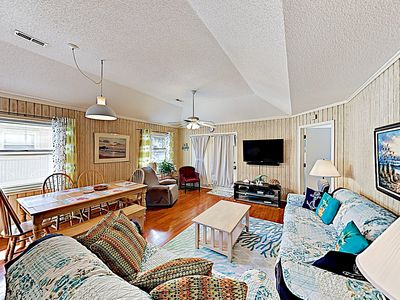 Photo for New Listing! Walkable All-Suite Bungalow w/ Sparkling Pool - 500' to Beach!