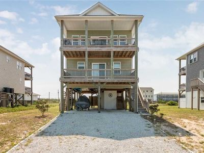 Photo for sEase My Pain:  4BR, 3BA, elevator, ocean to sound views at Topsail Beach!