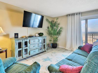 Photo for Oceanfront condo w/ panoramic water views & shared seasonally heated pool!