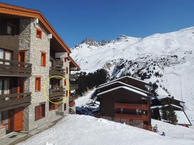 Photo for Apartment/ flat at the bottom of the runs in the heart of the three vallees