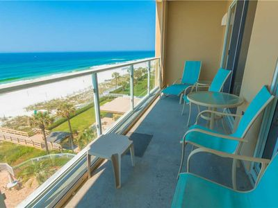 Photo for 5th Floor Tropical Style Unit With Spacious Balcony   Beach Front Balcony!