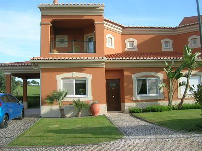 Photo for 3 bedroomed villa with a south facing private garden access to golf and pool