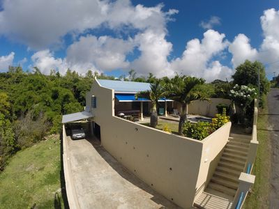 Photo for Rodrigues... Spacious well equipped villa with panoramic view of the lagoon and sunsets.
