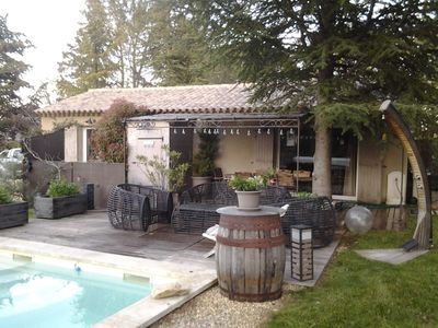 Photo for In the Luberon Charming little house for 4 pers.