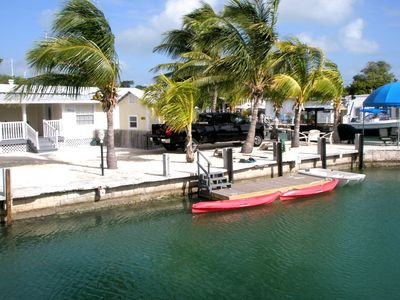Photo for Boaters Dream - Two 100 ft docks,Kayak-Bikes-Minutes to Oceans