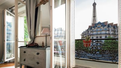 Beautiful apartment with outstanding Eiffel Tower views