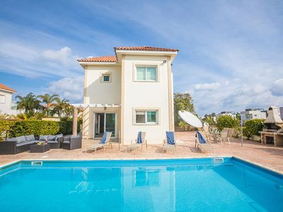 Photo for Villa Protaras Kentro, Lovely 3BDR Protaras Villa with private pool, Close to Fig Tree Bay