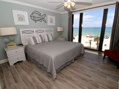 Master Bedroom King Size Bed watercrest 3rd floor 3 bedroom 3 bath 2 ma - vrbo