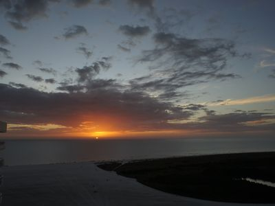 Photo for SST1-1902 Beautiful penthouse 2 BR beachfront, bring the sunset to you!