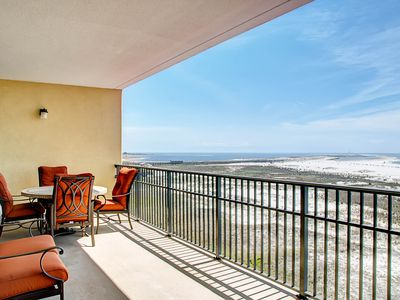 Photo for NEW LISTING! Upper-level condo features shared pools/hot tub-walk to the beach