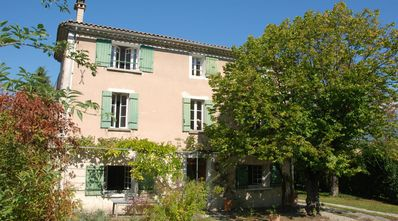 Photo for Charming house of 260 m2 on Mont Ventoux, secured pool and garden 2000 m2