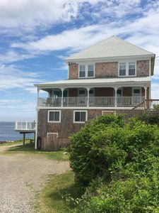 Photo for Oceanfront Home-walking distance to The Nubble and ShortSands