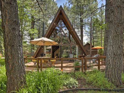 Photo for NEW! Cabin w/ Patio on Golf Course-3 Mi to Pinetop