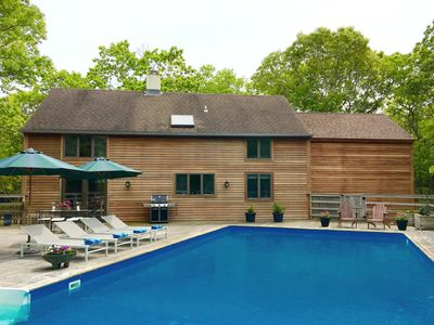 Photo for East Hampton Modern Home - New Renovation, 3 Bedrooms/2.5Bths, Pool