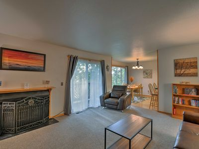 Photo for NEW! Spacious Condo w/Balcony in Central Anchorage