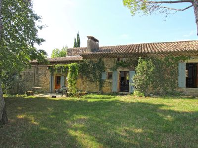 Photo for Characteristic country house with huge natural garden at 2 km from the village Sauzet