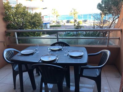 Photo for LOCATION N ° 1, SEA VIEW,SEA RESTAURANTS BARS SHOPS 50 METERS, AIR CONDITIONING