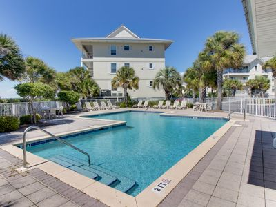 Photo for NEW LISTING! Beautiful coastal home w/ soundviews, shared pool & close to beach