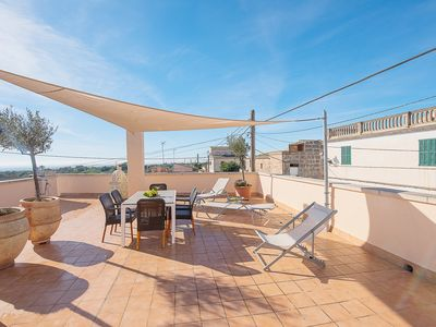 Photo for House with large terrace, pool, roof terrace overlooking the coast