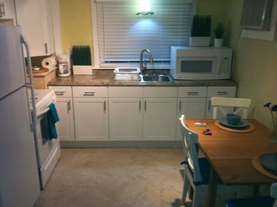 Full kitchen for your use