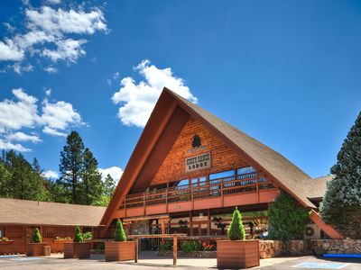 Photo for FLASH SALE! Cozy Condo at Base of Mogollon Rim w/ Fireplace, WiFi & Resort Pool