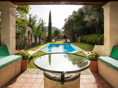 Photo for **PREMIUM PROPERTY** Beautiful finca with spectacular views and HEATED POOL