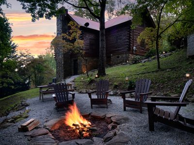 Photo for FILL THE GAP! $99 night - Nov 10-16  !! Log Cabin, Amazing Views