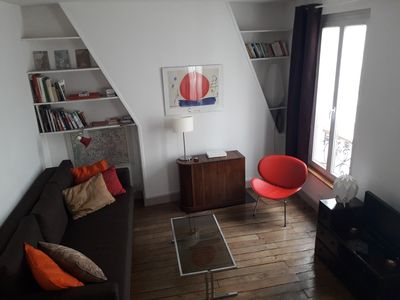 Photo for Stylish apartment in trendy romantic Montmartre