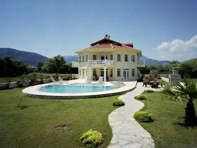 Photo for 6 bedroom Villa, sleeps 16 with Pool, Air Con, FREE WiFi and Walk to Shops