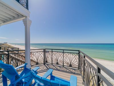 Photo for Gulf Front ~ Breathtaking Gulf Views ~ Inlet Beach ~ Our Blue Bonnet