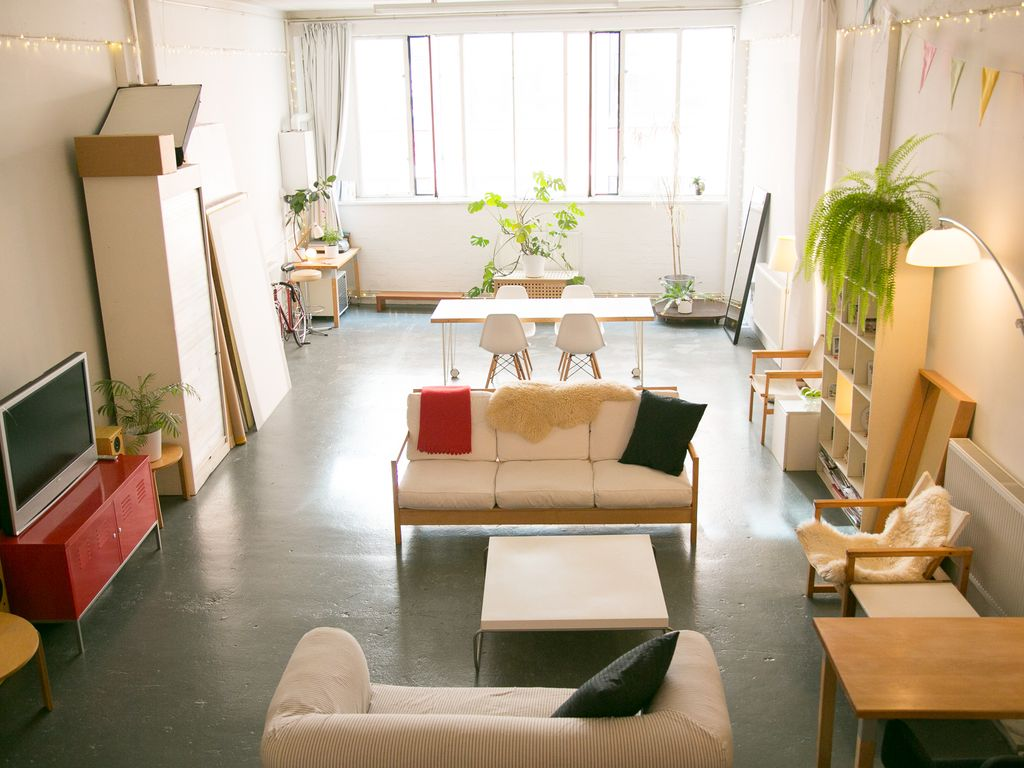 ENTIRE EAST LONDON LOFT 5 Airbnb Superho  HomeAway