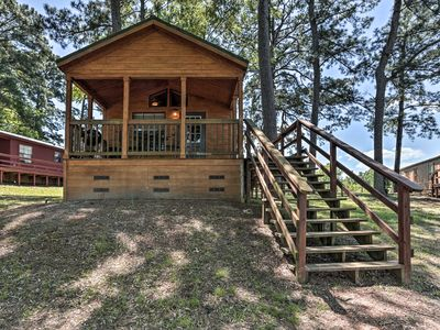 Photo for Cozy Milam 'Red Fox Cabin' w/Porch on Toledo Bend!