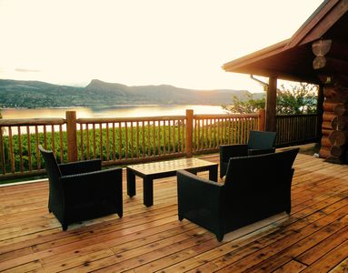 Relax with the best view in the Okanagan!