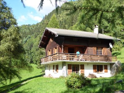 Photo for A chalet, friendly and comfortable, perfect for skiing and hiking!