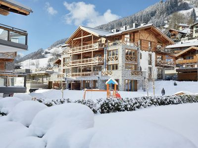 Photo for Stylishly decorated apartment in a 4-star report right on the piste