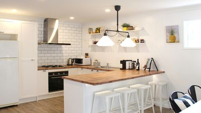 Stunning Kitchen so well equipped, all new !
