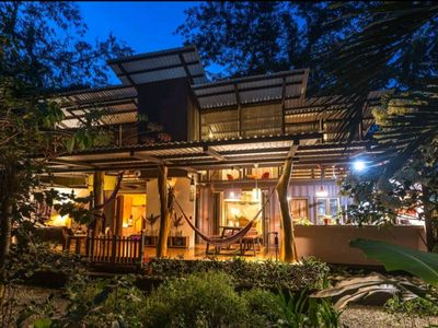 Photo for Eco Chic Container Home in the Cocles Jungle