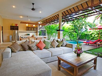 Photo for Charming Modern 2 Bedroom Villa, Central Seminyak""