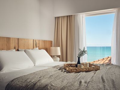 Photo for Shellona Luxury Rooms - Superior Room 2-3 guests with Sea View