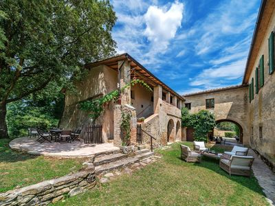 Photo for Fagianaia - pool farmhouse 8 guests - Montalcino view in Orcia Valley