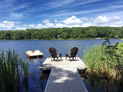 View of Lake From the Private Dock