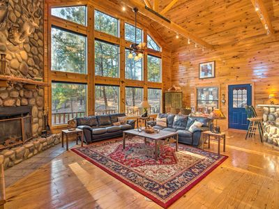 Photo for NEW-Luxury Cabin w/ Hot Tub Near Lake & Broken Bow