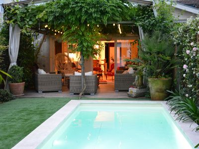 Photo for Townhouse with pool and garden
