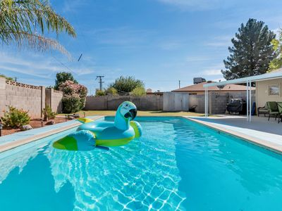 Photo for Pool * Privacy * Lawn * Location - Can't beat this 4 bd