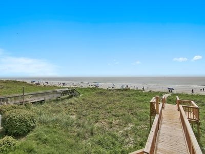 Photo for Oceanfront, Private House, Pet Friendly, Super Clean, Umbrella & Chairs Provided