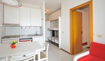 Photo for Residence Luxor, Bibione, near to the beach, 1 bedroom, 5 people, pool, clima, parking place