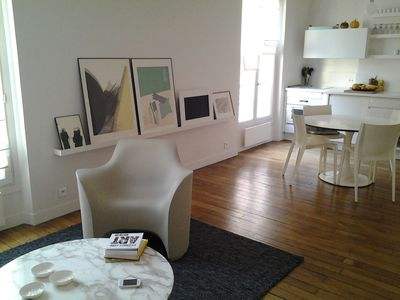Photo for 2 bedroom apartment in the Haut Marais