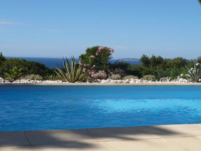 Photo for Luxury property with panoramic sea view, in La Croix Valmer
